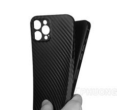 Ốp lưng iPhone 12 Promax - Memumi carbon